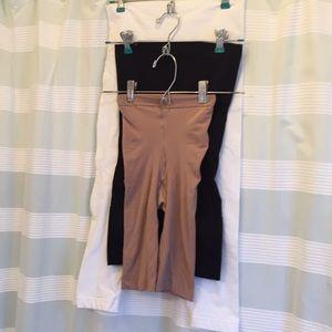 3 pair slimming undergarments